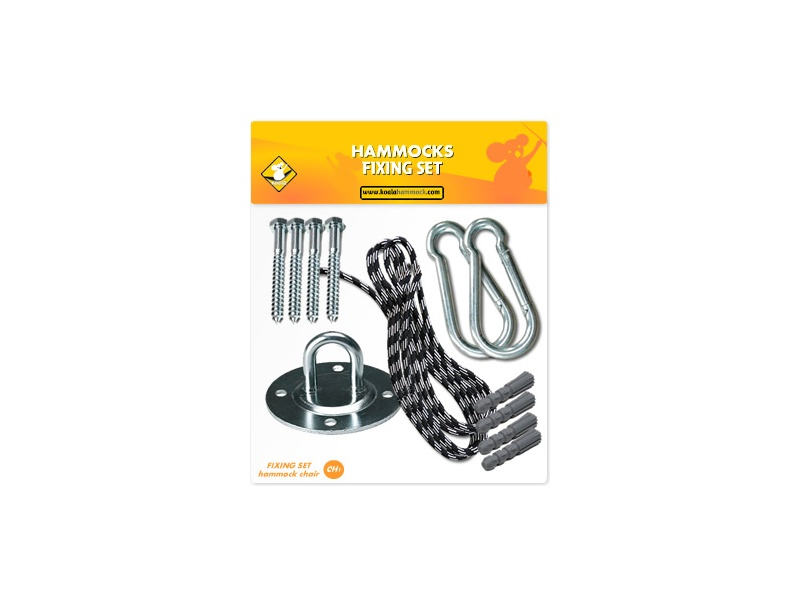 Fixing set for hammock chairs, koala/fix/ch1