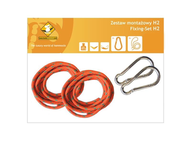 Zestaw montażowy H2_2 do hamaków, pomarańczowy koala/zh2_2