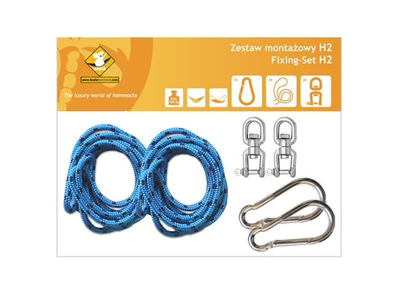 Zestaw montażowy H2 do hamaków, Niebieski koala/zh2