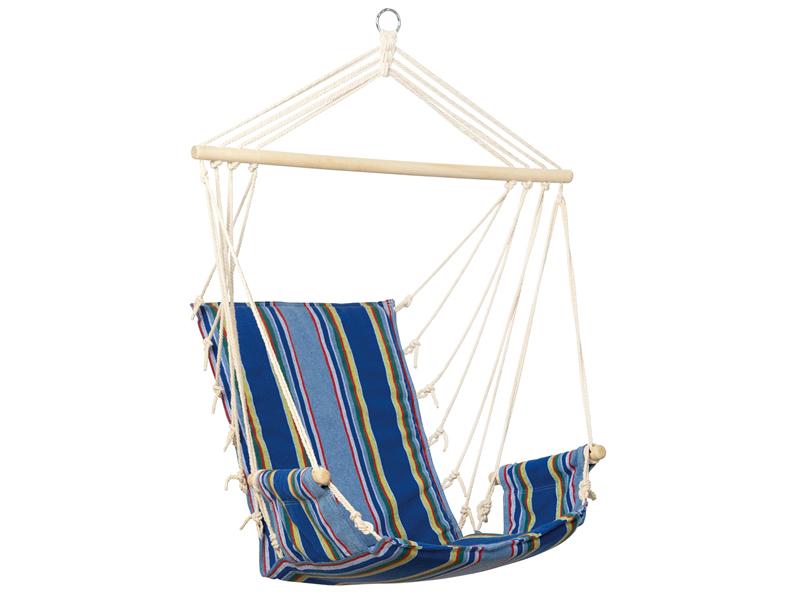 Fotel hamakowy, Niebieski Palau