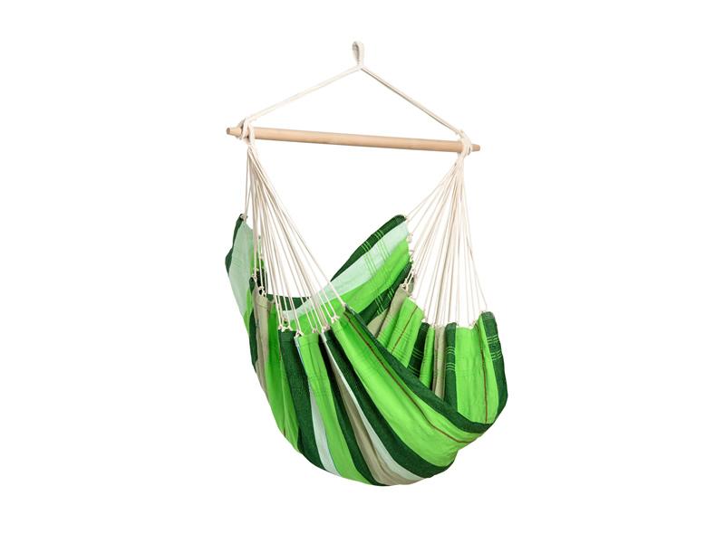 Fotel hamakowy, zielony Brasil