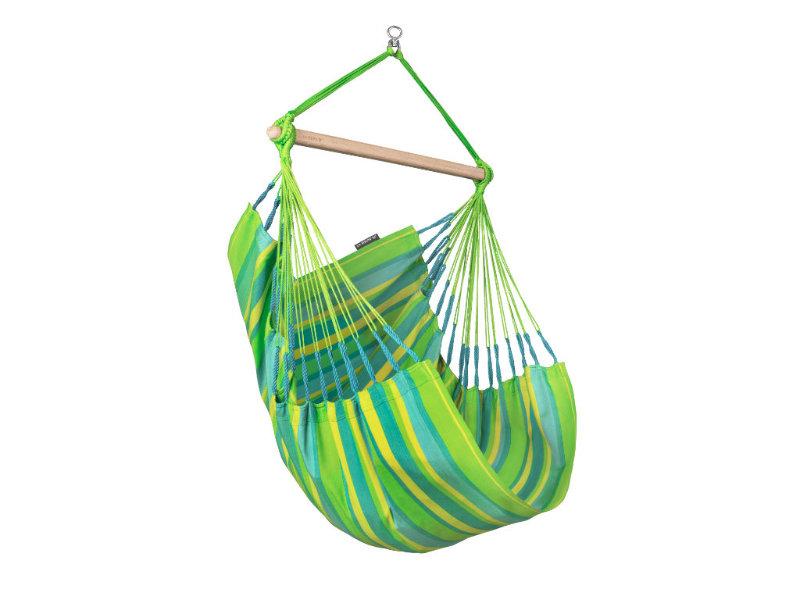 Fotel hamakowy Domingo, zielony DOC14