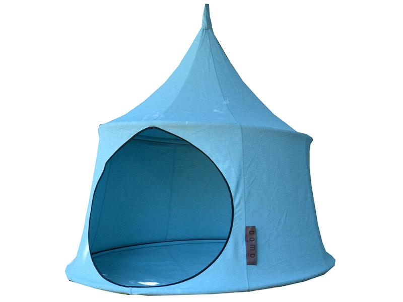 Namiot wiszący, Cyan blue Jednoosobowy Domo