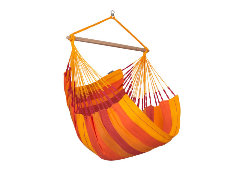 Fotel hamakowy Habana, pomarańczowy HAL18