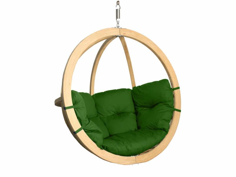Fotel hamakowy drewniany, Swing Chair Single (3)