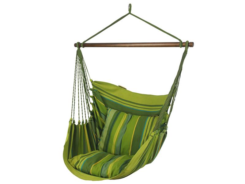Fotel hamakowy, zielony groszek HC10