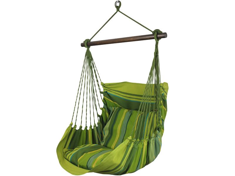 Fotel hamakowy, zielony groszek HC9