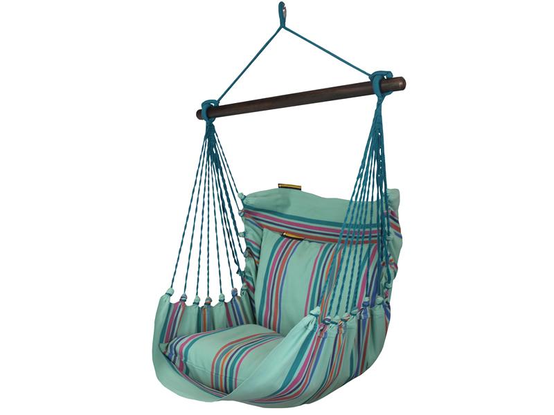 Fotel hamakowy, zielony HC9