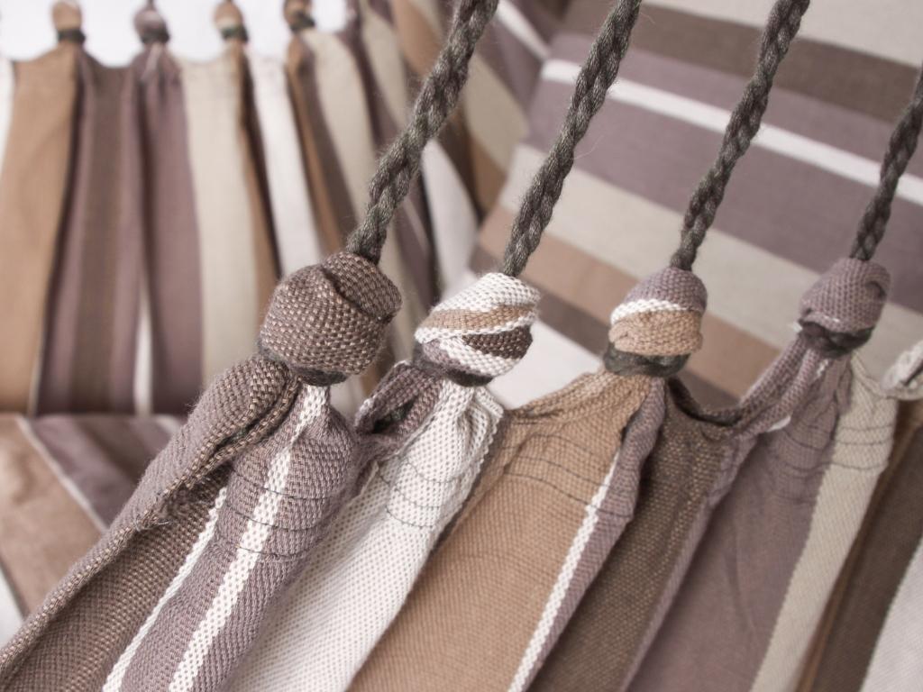 Fotel hamakowy szeroki z poduszką, HC10 PP