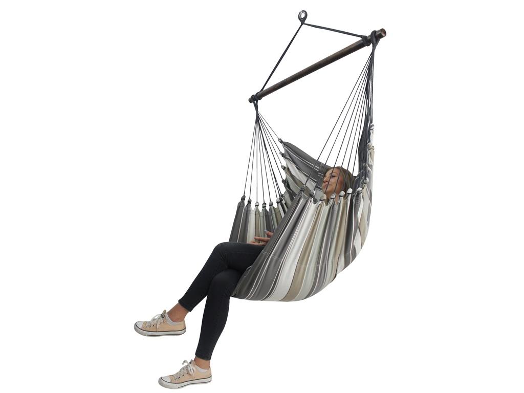 Quel Tissu Pour Chaise hamac-chaise large avec des oreillers - hc10 pp - chaise