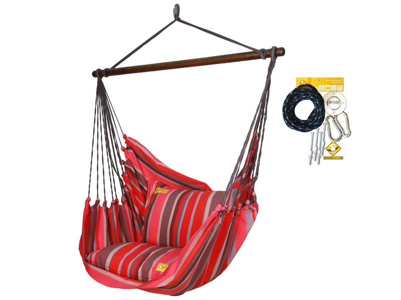 Leżak hamakowy HCXL z zestawem montażowym