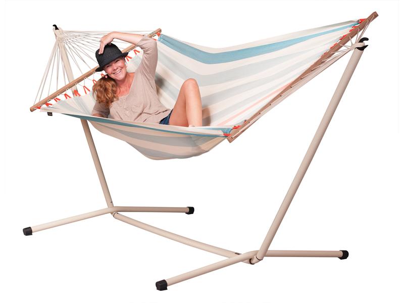 Hammock set: Colada hammock with Neptuno stand, COR14NPS165
