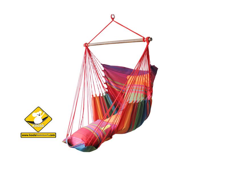 Fotel hamakowy szeroki z podstawką, HC-FR