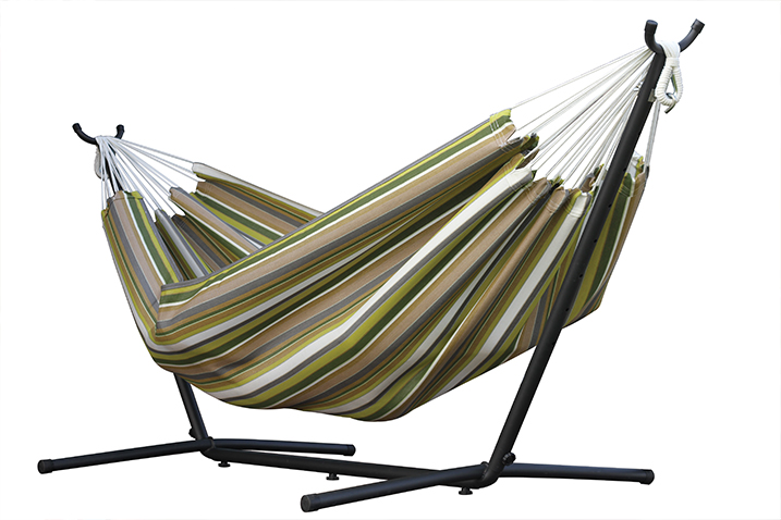 Hamak Sunbrella + stojak metalowy 9f, C9SUN