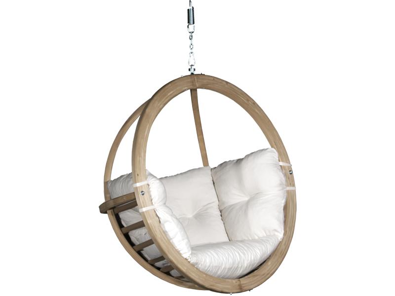 Fotel hamakowy drewniany, Swing Chair Single