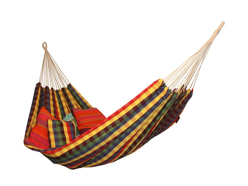 Dwuosobowy hamak bawełniany