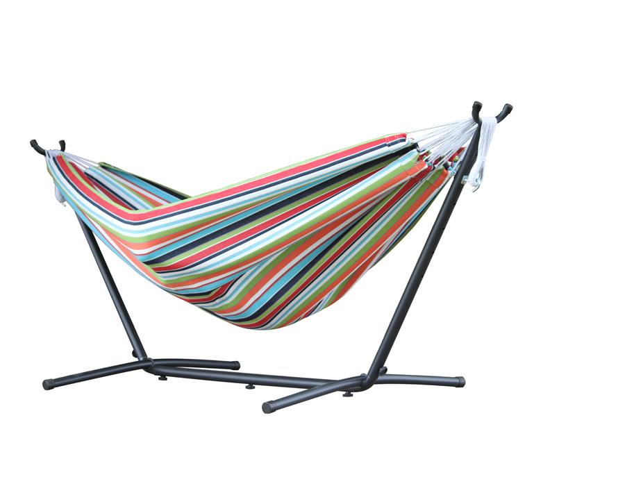 Hamak Sunbrella + stojak metalowy 8f, C8SUN