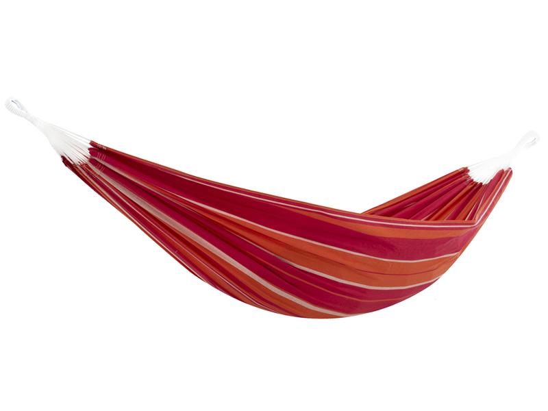 Brazilian Hamak dwuosobowy, czerwono-pomarańczowy BRAZ2