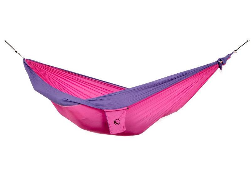 Hamak dziecięcy, różowo-fioletowy Mini hamak