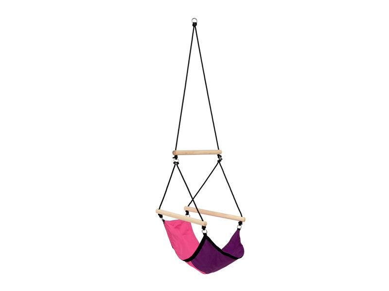 Fotel hamakowy dla dzieci, Różowy Kids Swinger