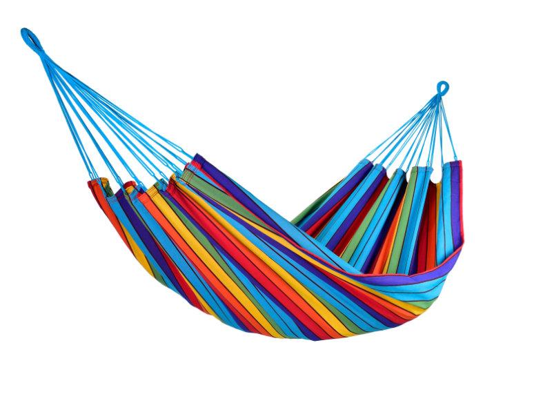 Jednoosobowy hamak - duży wybór kolorów, Multicolore KOCON
