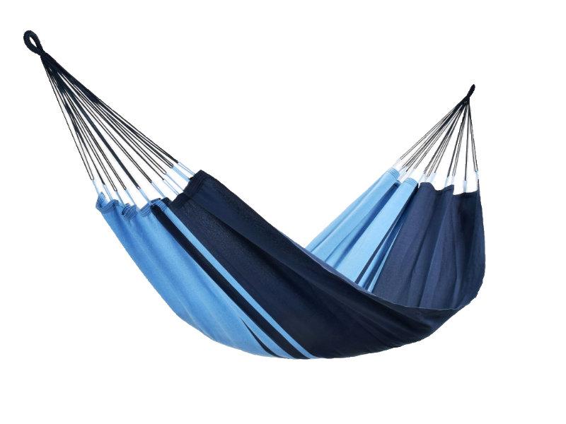 Jednoosobowy hamak - duży wybór kolorów, niebiesko-granatowy KOCON