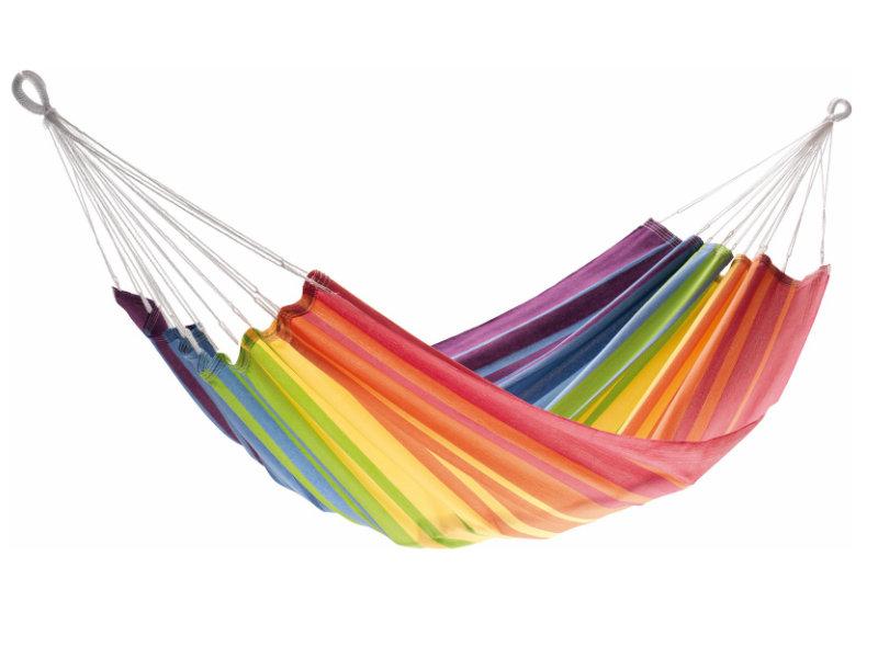 Jednoosobowy hamak - duży wybór kolorów, Rainbow KOCON