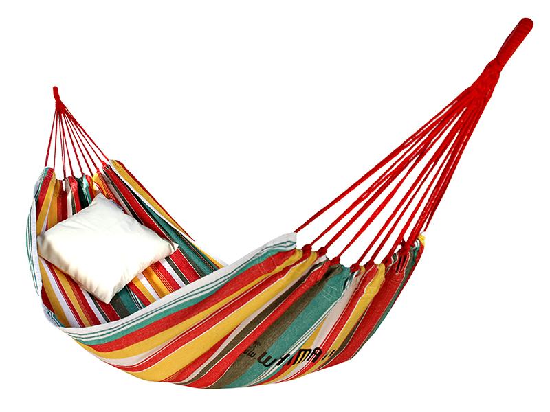 Hamak bawełniany, kolorowy CH