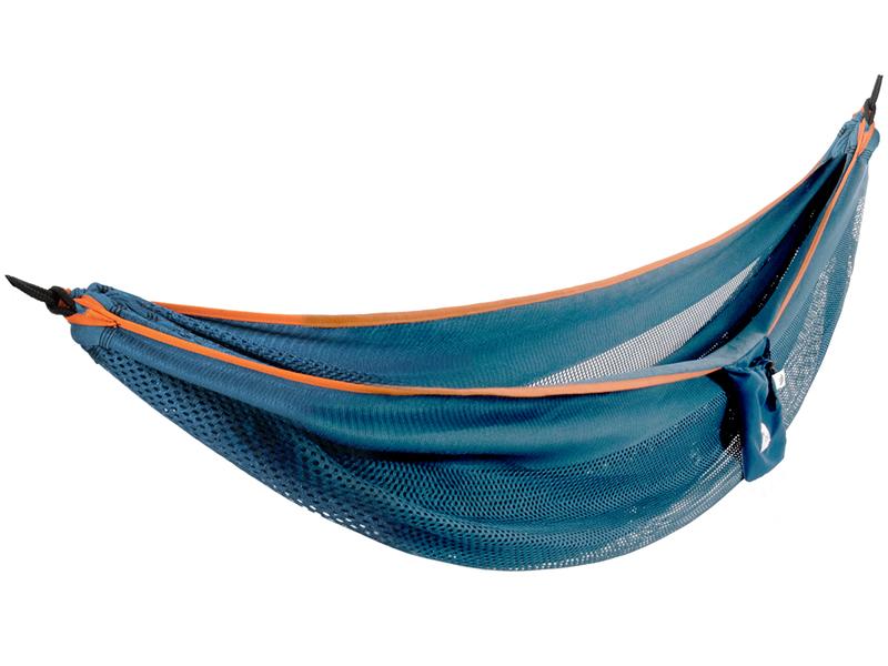 Hamak dwuosobowy, Niebieski MESH2