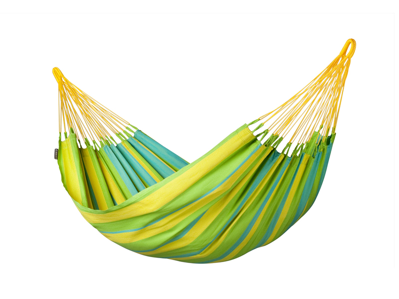 Hamak Sonrisa H140, zielono-żółty SNH14