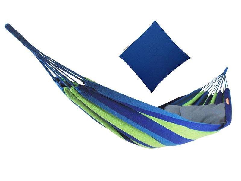 Hamak z poduszką, Niebieski Ipanema + PZS - 113