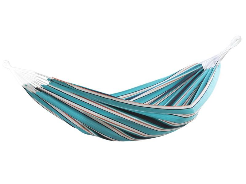 Dwuosobowy hamak Sunbrella, niebiesko-biały BZSUN