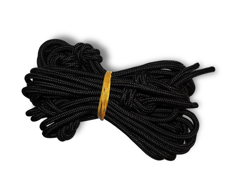 Czarna lina, czarny Nautical Ropes