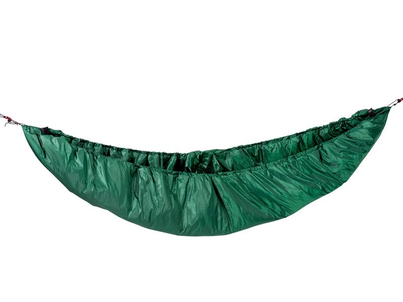Podkład termiczny pod hamaki, Zielony Underquilt