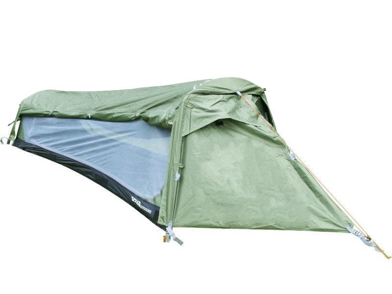 Namiot hamakowy 1-osobowy, Zielony Crua Hybrid CH-03