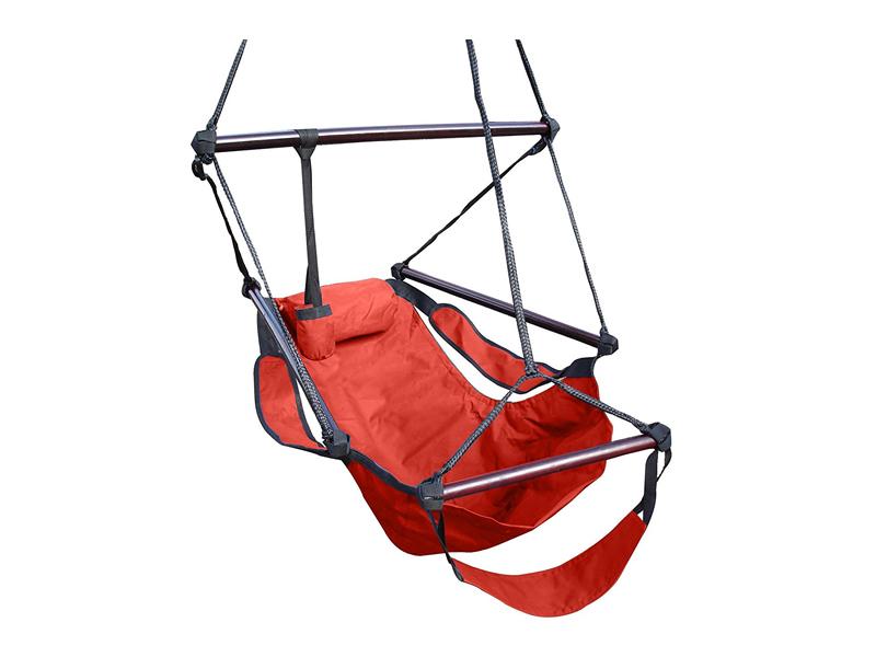 Fotel hamakowy, Czerwony HANG