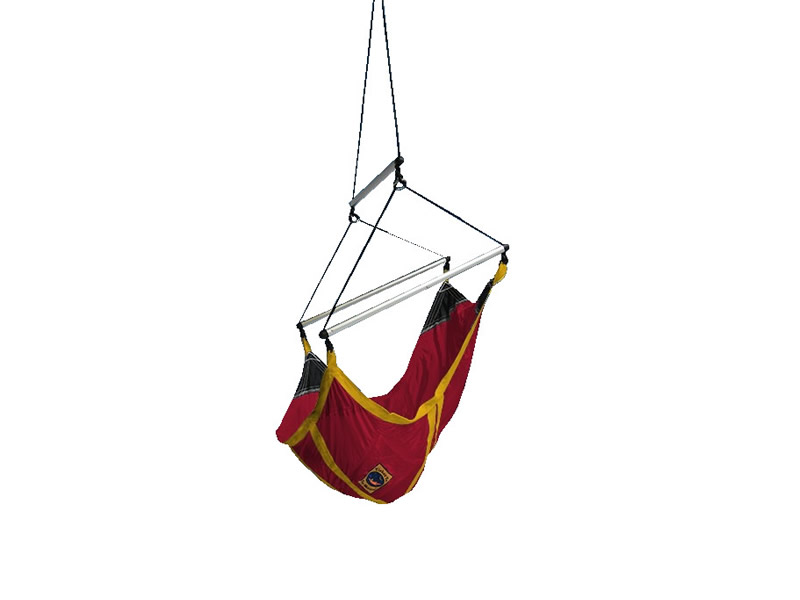 Fotel księżycowy dla dzieci, czerwono-żółty Kids Moon Chair
