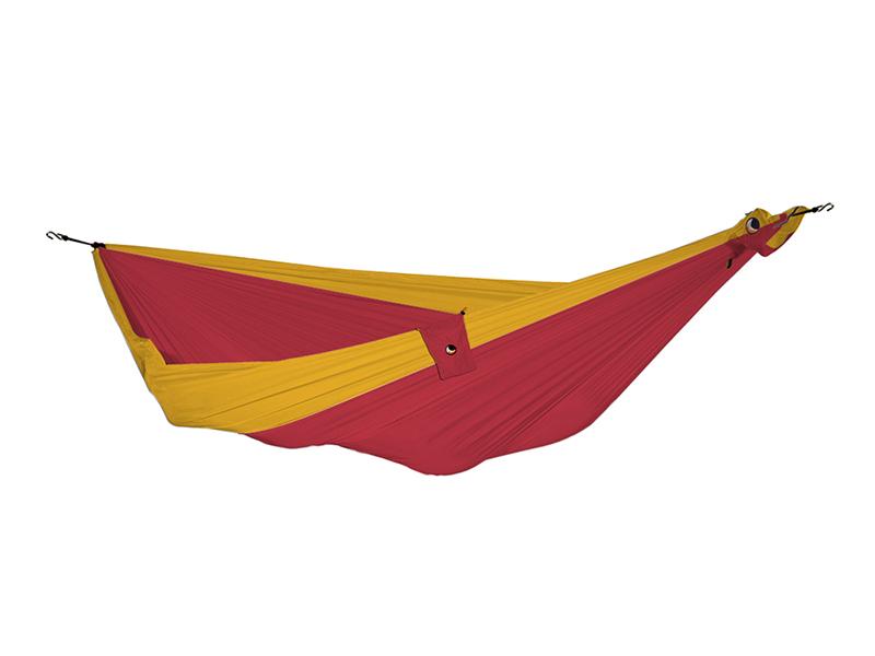 Hamak duży, czerwono-żółty THK-(1)
