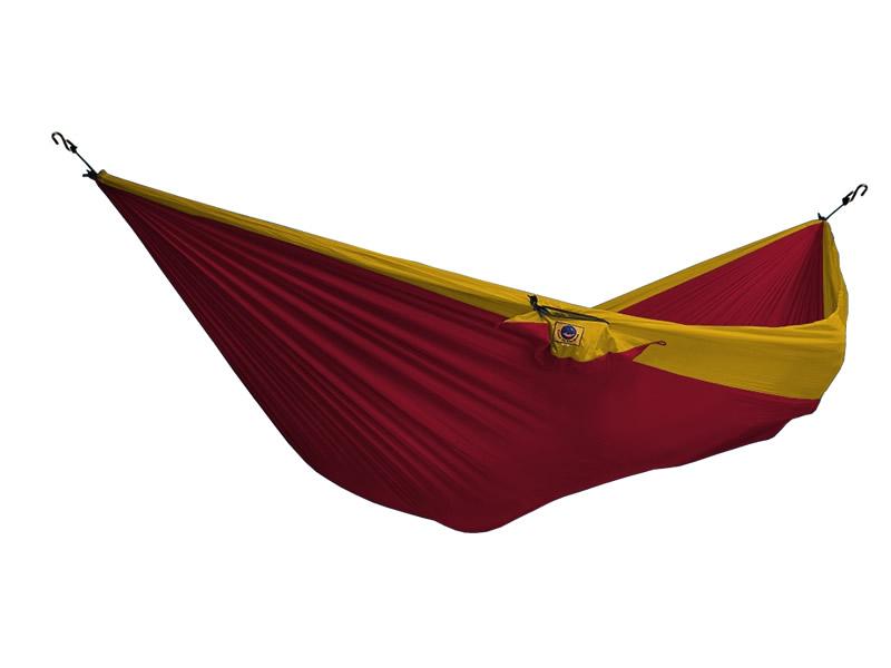 Hamak dwuosobowy, żólto-czerwony THD-(1)