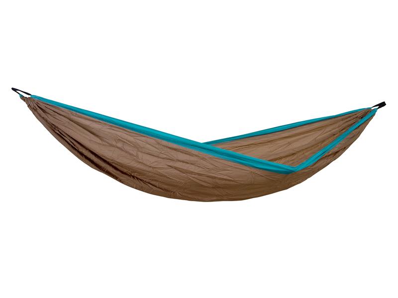 Hamak turystyczny, Brązowy Silk traveller XL