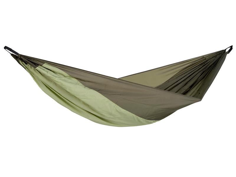 Hamak turystyczny, Oliwkowy Silk traveller Thermo