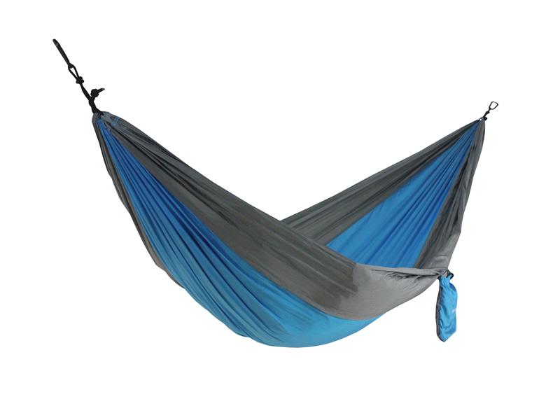 Hamak jednoosobowy, szaro-niebieski Cocoon