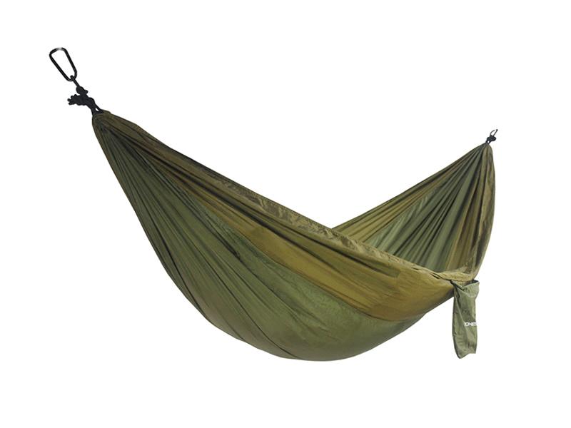Hamak jednoosobowy, zielono-oliwkowy Cocoon