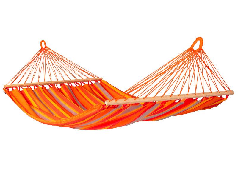 Hamak z drążkiem Alisio, pomarańczowy ALR16
