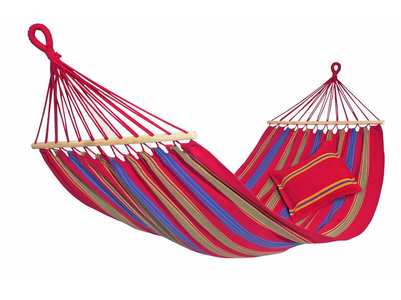 Hamak z drążkiem, Czerwony Aruba Amazonas
