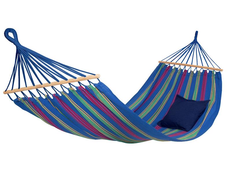 Hamak z drążkiem, Niebieski Aruba Amazonas