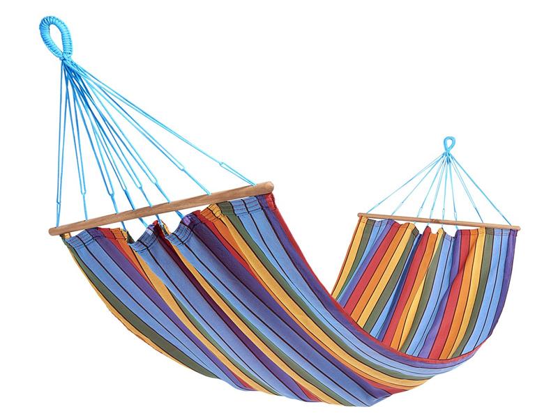 Jednoosobowy hamak z drążkiem, Multicolore KOLOR