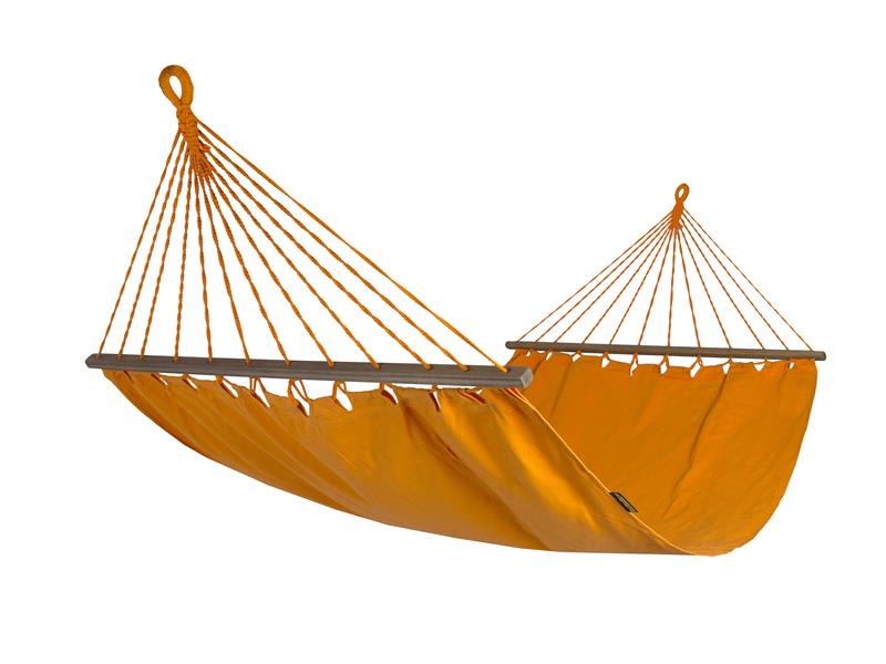 Hamak z drążkiem szeroki, Bird of Paradise Orange HSL