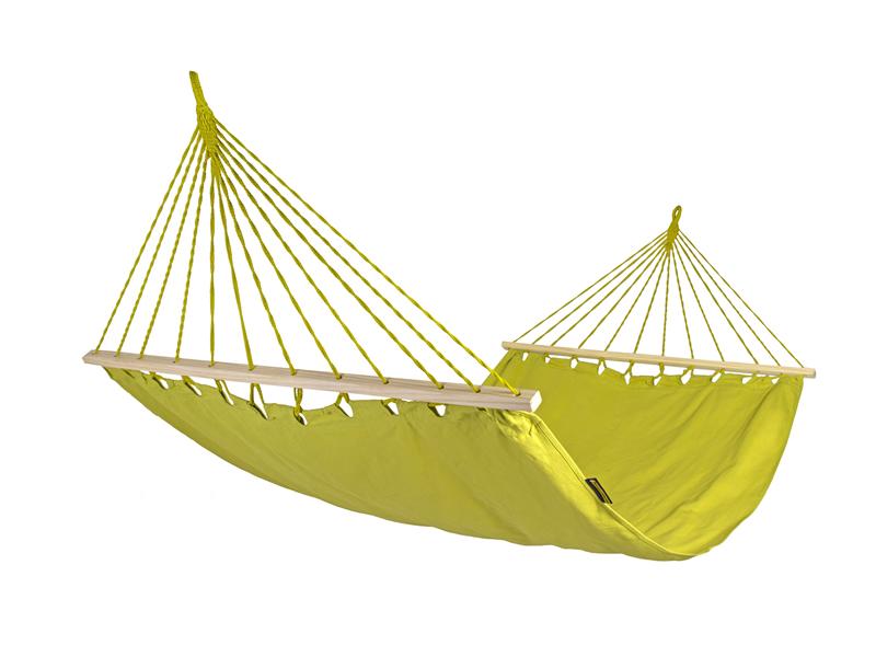 Hamak z drążkiem szeroki, Parakeet Green HSL