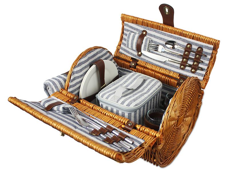 Kosz piknikowy morska bryza, ZQ019-6047